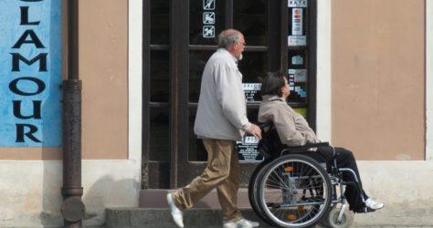 transport pour handicapés