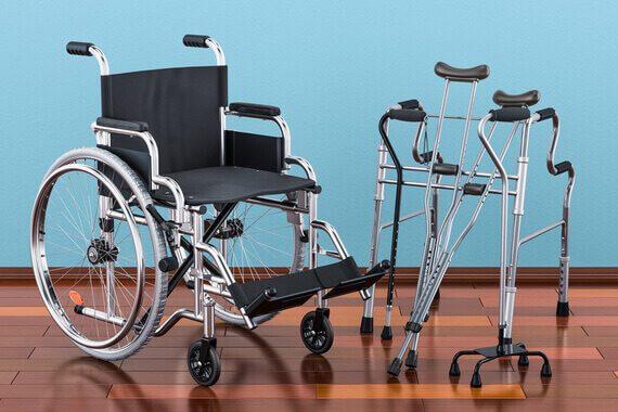 matériel pour personnes âgées